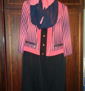 Платье с шарфиком