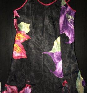 Сексуальная Сорочка пеньюар пижама ночнушка