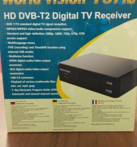 Приставка для телевизора 20 каналов Dvb-t2