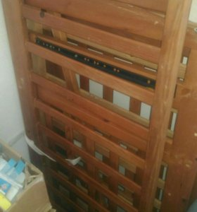 Кроватка с ящиком для вещей