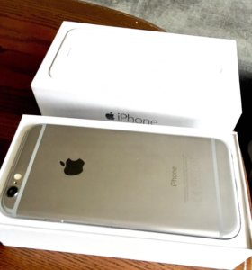 iPhone 6, space gray 16 Gb