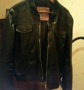 Куртка кожа+экокожа+хлопок