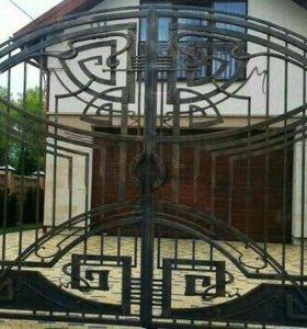 Эксклюзивные ворота