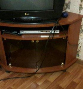 Тумба под ТВ угловая