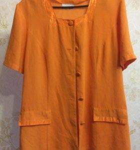 Лёгкая летняя блузка 54 размера