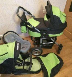 Детская коляска трансформер Riko Alpina 3 в 1