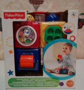 Кубики Fisher Price
