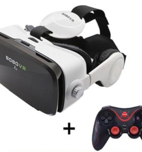 Очки VR, geim-pad.
