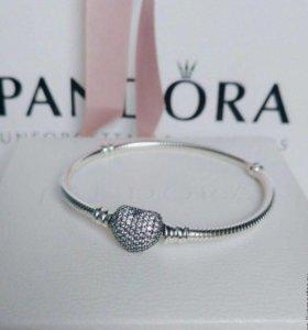 Новые браслеты pandora