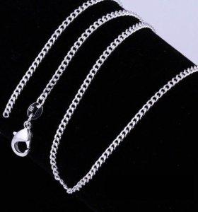 Серебряная цепочка. Толщина 2 мм