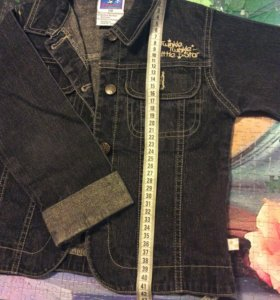 Курточка джинс новая!