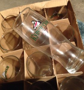 Новые пивные бокалы