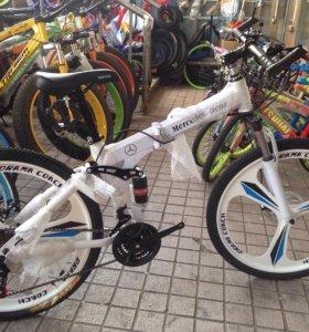 Велосипед на литье
