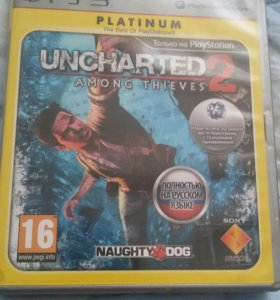 Игра на PS3 Uncharted 2: Among Thieves
