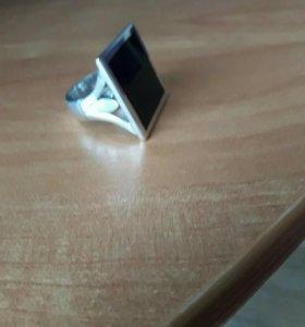 Перстень. 925 серебро. Эмаль