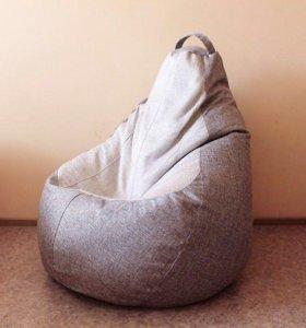 Новое бескаркасное кресло