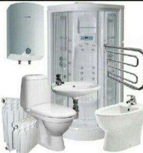 Замена сантехнических приборов