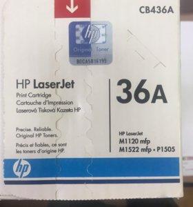 Картридж сb436a для принтера HP