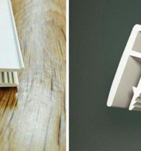 Комплектующие для натяж потолков+светильники200р
