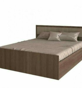 Кровать с матрасом 160/200 ясень Новая!