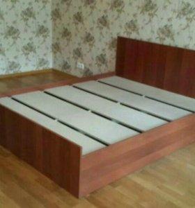 Кровать Орех 160 Новая!