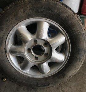Багажник на Истану. 5 дисков без резины