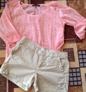 Набор шорты и рубашка (новая)