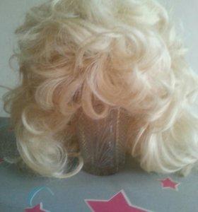 Парик (натуральный волос) новый