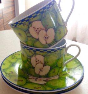Чайная пара из 2х чашек