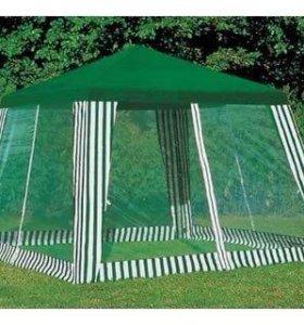 Тент с москитной сеткой (шатер, палатка) новый