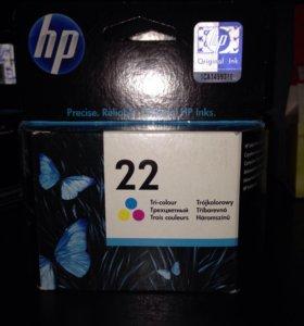 Картридж оригинальный HP 22