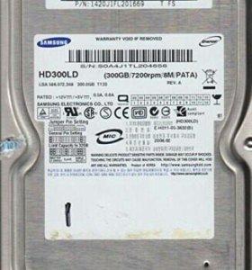 Жесткий диск 300 Гбайт самсунг ide