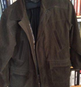 Куртка нубук 56 р