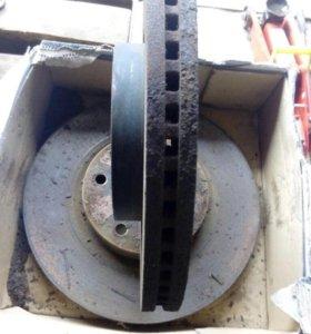 Тормозные диски на Mazda6