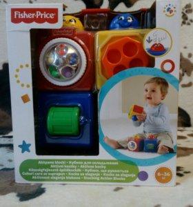 Кубики для складывания Fisher-Price