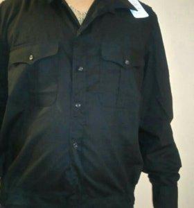 Рубашка вмф черная