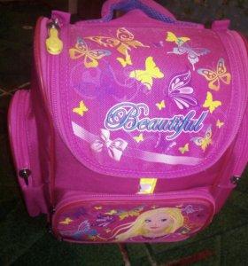 Рюкзак с первого  по четвертыйкласса (для девочки)