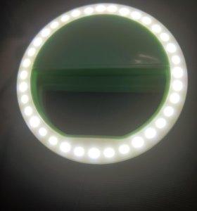 Очень яркое светодиодное кольцо для селфи