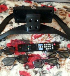Телевизор 3D. Экран разбит