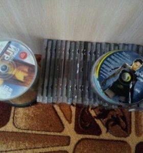 Коллекция дисков. Игры и прочее