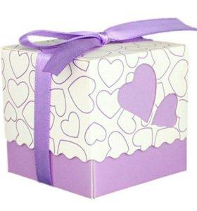 Коробочки для подарков гостям