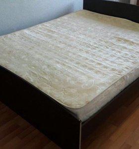 Кровать+ матрац