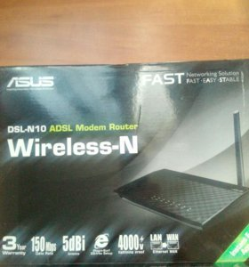 Wireless-N150 ADSL modem Router