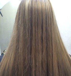 Стрижки ,окрашивание волос