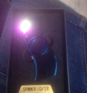 Спиннер зажигалка USB