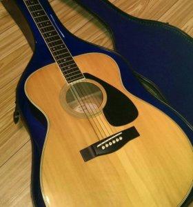 Гитара Yamaha fg 202d c кейсом Япония