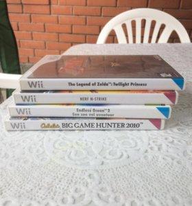 Игры на приставку Wii