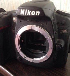 Фотоаппарат, объектив и в пышка