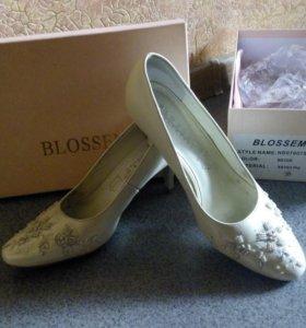 Свадебные туфли!)