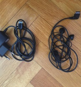 Зарядка + наушники для телефона Samsung